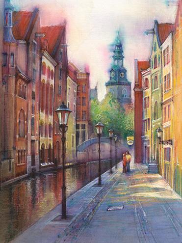 Afternoon Amsterdam Artfromolga